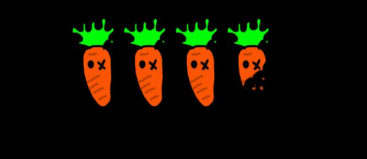3.5 carrots
