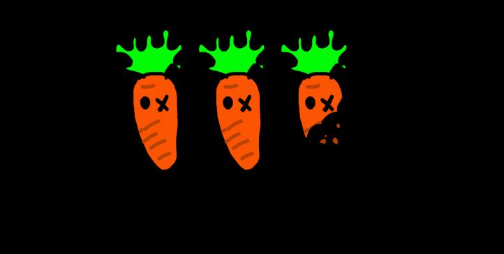2.5 carrots