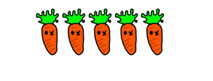 5 carrots