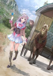Atelier Lulua key visual - otaku rabbit hole