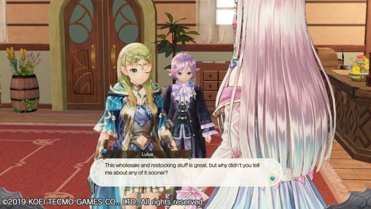 Atelier Lulua restock and wholesale