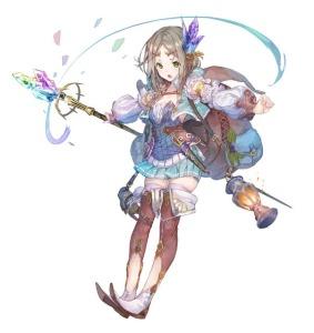 Atelier Firis Character Image Otaku Rabbit Hole