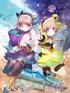 Atelier Lydie and Suelle Key visual - otaku rabbit hole