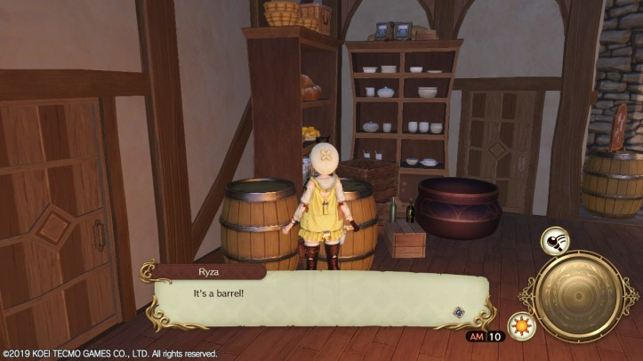 BARREL! Atelier Ryza Otaku Rabbit Hole