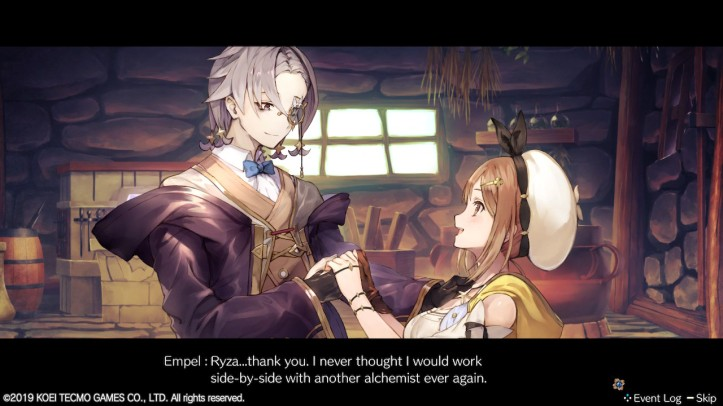 Empel Gets His Arm Back Atelier Ryza Otaku Rabbit Hole