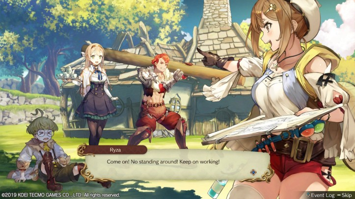 Get to Work! Atelier Ryza Otaku Rabbit Hole