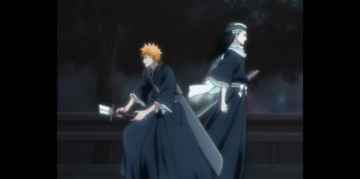Byakuya Anihilates Ichigo Bleach Anime Otaku Rabbit Hole