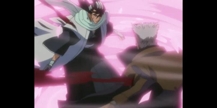 Byakuya vs Kariya Bleach Anime Otaku Rabbit Hole
