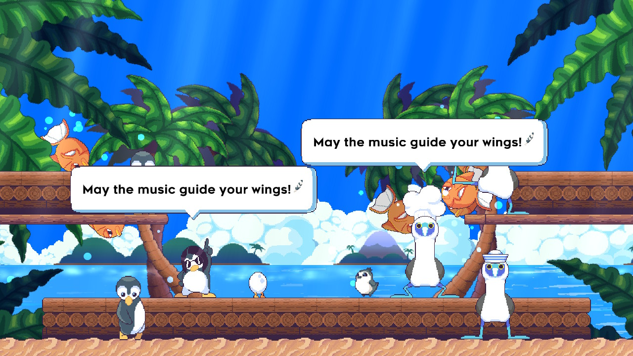 May the music guide your wings Songbird Symphony Otaku Rabbit Hole